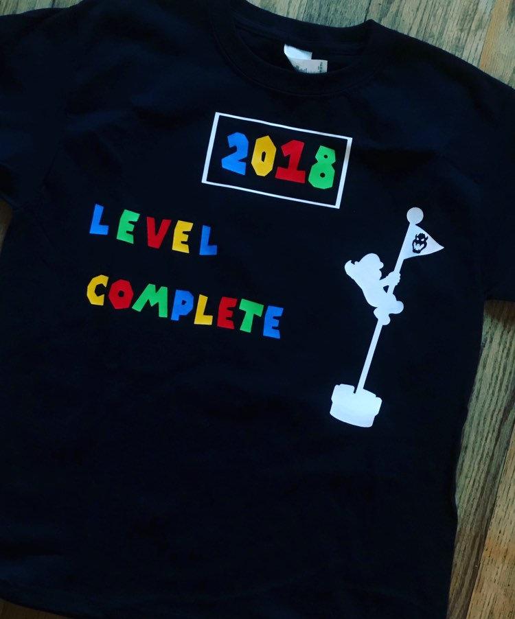 Super mario shirt, super mario new years shirt, mario New Years Eve, level  up shirt
