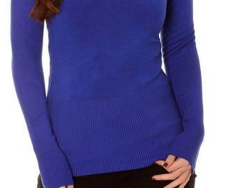 Basic genuine cashmere sweater