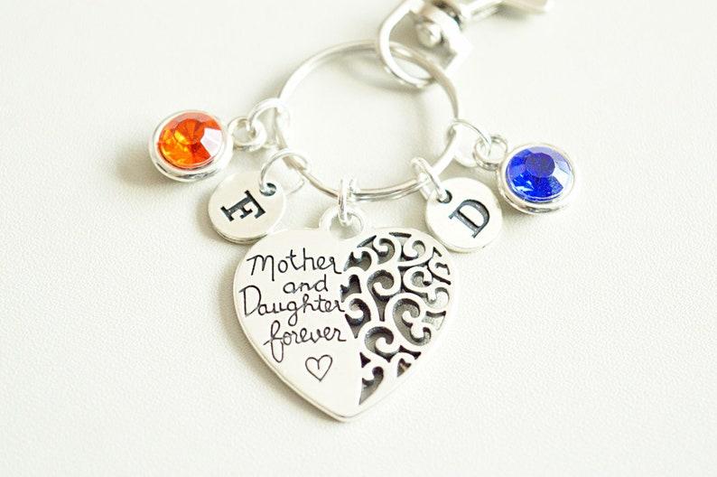 gift for family member mothers day gift memorial daughter mother daughter forever Gift for mom gift from daughter mother birthday gift