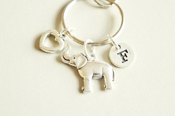 Elephant Gifts Elephant Lover Gift Elephant Keychain