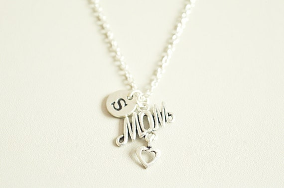 Mom Birthday Gift Necklace Personalised For Christmas