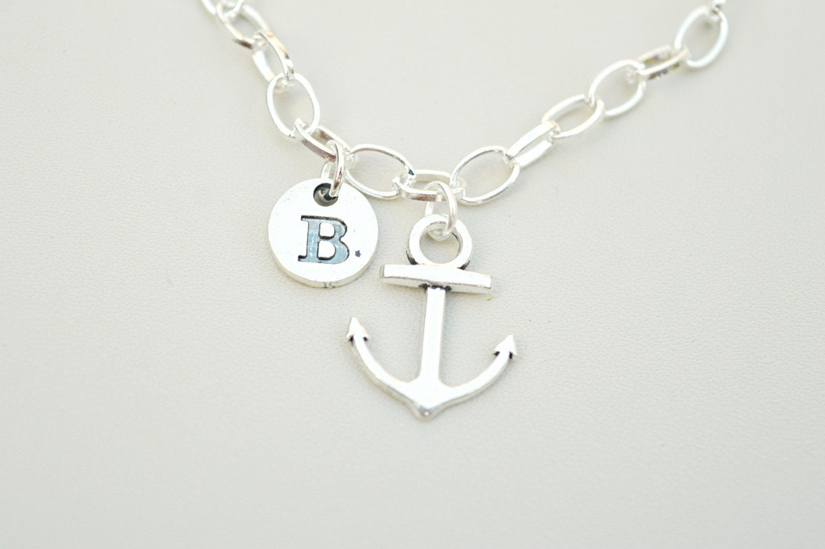 Anchor Bracelet Best Friend Mens Gift For Brother Birthday Boyfriend