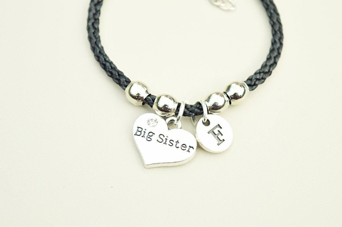 Big Sister Gift Birthday Bracelet