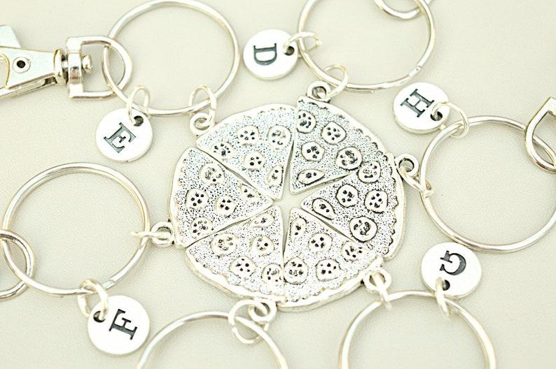 2 3 4 5 6 best friend keychain,set of keychain Best friends gift set gift for best friends matching keychains personalised bff gift