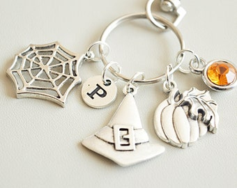 Witch gift, Witch keychain, Witch  keyring, Halloween gifts, Gifts for Witch Lover, Gift for Witch, Halloween Keychain, Halloween Key ring
