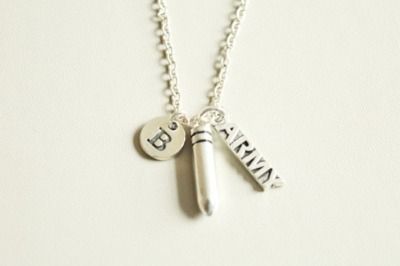 Army Necklace Gifts Wife Gift Mom