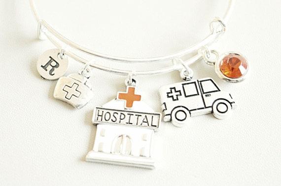 Nurse Graduation Gift Birthday Bracelet Bangle