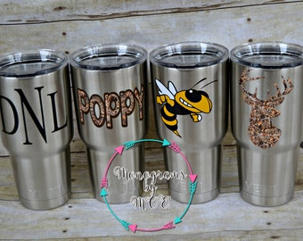 YETI / Customized 30 ounce YETI Rambler / Customized Yeti / Personalized Yeti / Yeti Rambler / Monogrammed Yeti