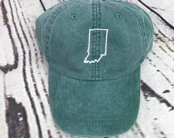 d48419ccb135ee get indiana hat state of indiana baseball hat indiana baseball cap indiana  hat state outline hat