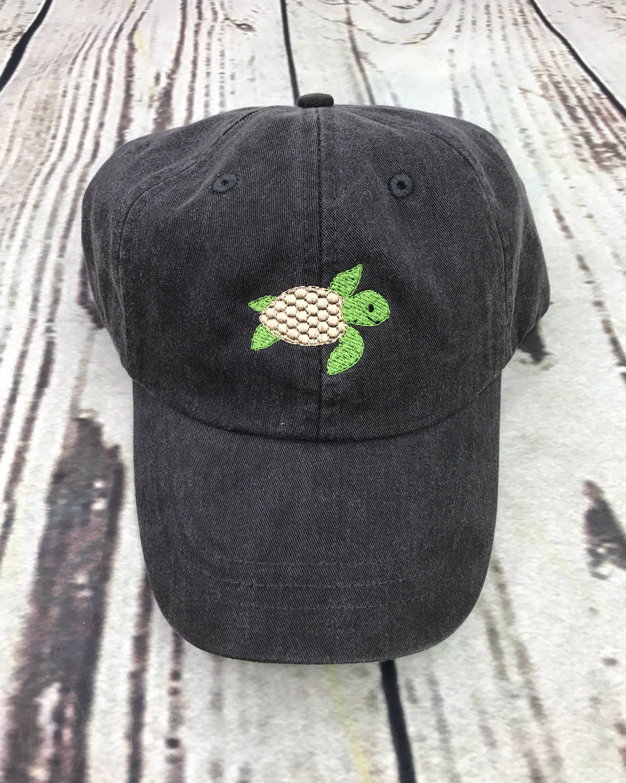 f94904e65743b Turtle hat Turtle baseball hat Turtle baseball cap Pigment
