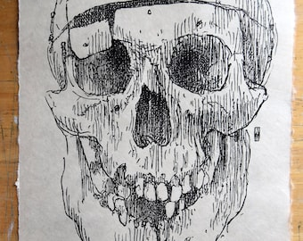 "Woodcut print: ""William Burke, the Notorious Murderer"""