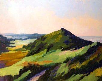 Head of the Meadow (Cape Cod) Original Landscape Painting