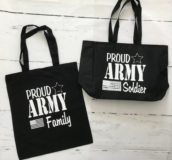 ARMY TOTE bags, Canvas/Cotton Unique Tote Bags