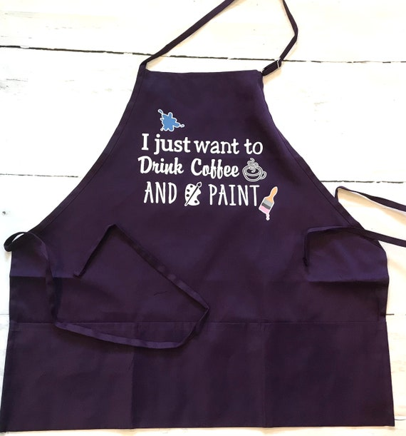 Colorful Aprons for Painting, Crafting and Baking!
