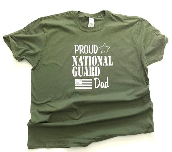 NATIONAL GUARD Mom/Dad/Family T-shirts