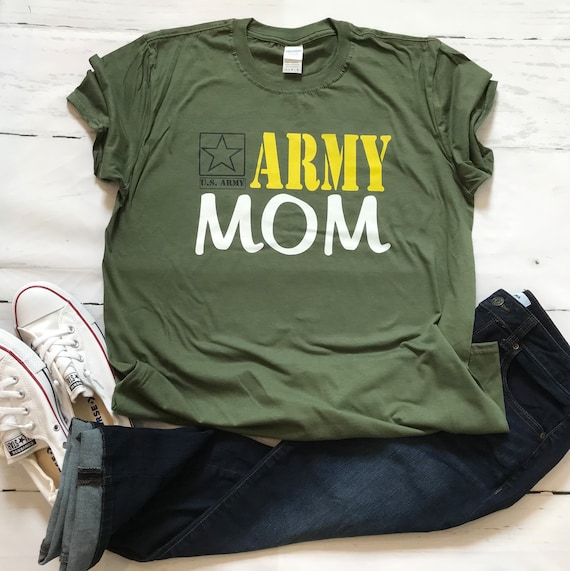 Army MOM, Military support T-shirts