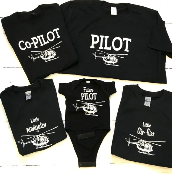 Helicopter PILOT Family T-shirts!