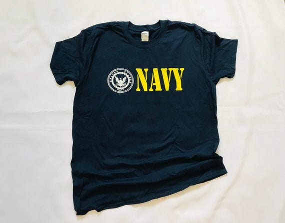 NAVY t-shirt, United States Military Service, Navy emblem, T-shirts