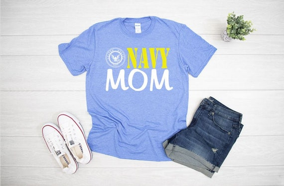 NAVY MOM T-shirts, Military support
