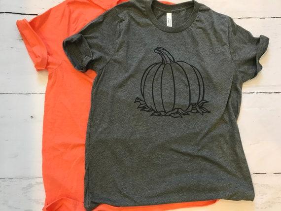 Halloween, Hello Fall Pumpkin T-shirt