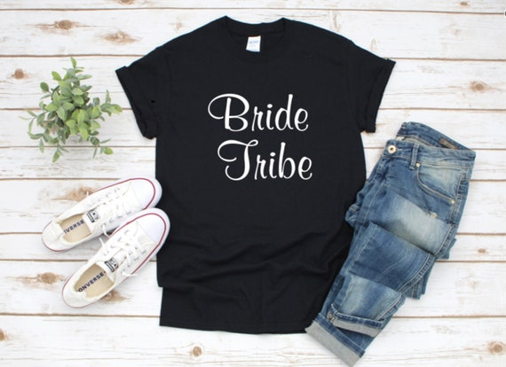 Wedding Party BRIDE & Groom, Bride TRIBE, Best man, T-shirts