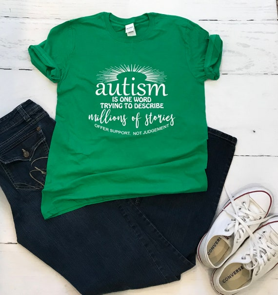 Autism - One Word, Million Stories -  Offer Support