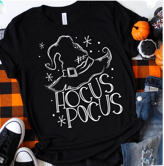 HOCUS Pocus, witches hat, HALLOWEEN /FALL T-shirt