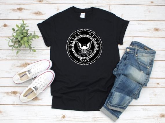 NAVY logo, Navy Veteran, EMBLEM, UNITED States Navy T-shirts