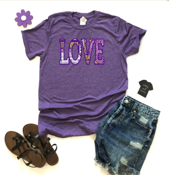 LOVE, GROOVY, colorful and FUN T-shirt