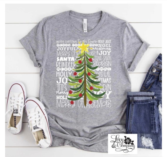 MERRY CHRISTMAS Family T-shirts, fun, holiday t-shirt