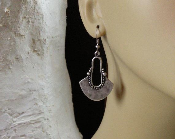 Boho Turkish Tribal Earrings  (#6917)