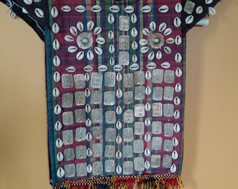 "Turkmen Child's Vest ""Kirlik"" Ceremonial Tribal Adornment Home Decor Ethnic Yomud Yomut (#9)"