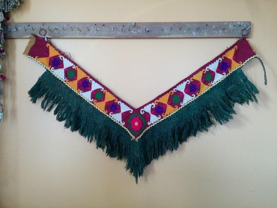 Uzbek Saya Saye Gosha Textile Segusha Central Asian Embroidery