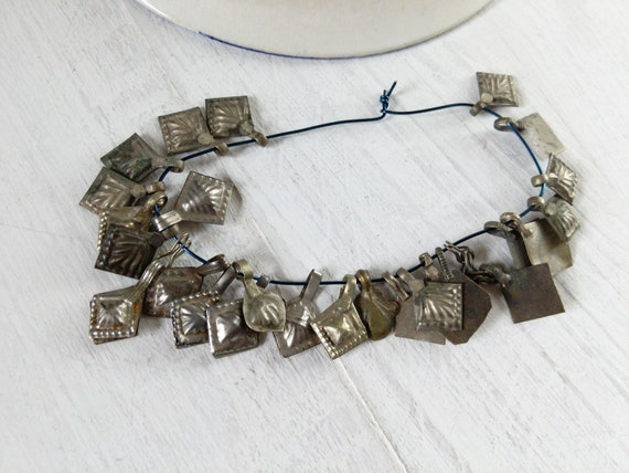 Vintage Tribal Jewelry Findings Mixed Styles 25x (#7275)