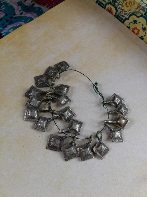 Vintage Tribal Jewelry Charms Mixed Set of Hamsa 19x (#7307)