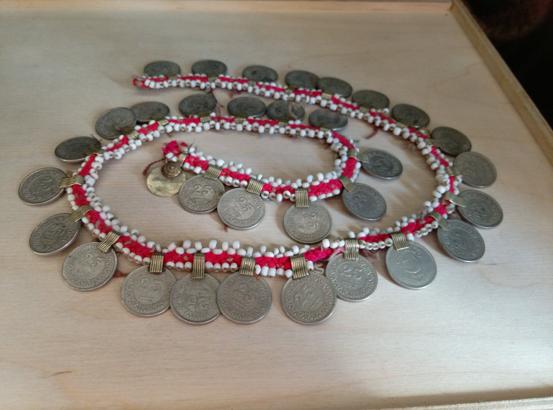 843dfc9c5 32 XS Vintage Kuchi Tribal Coins DIY Ethnic Arts Crafts Jewelry ...
