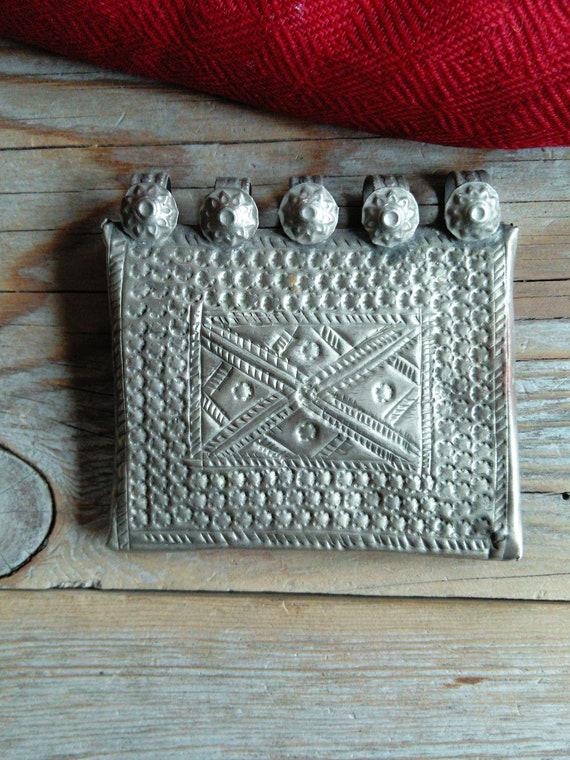 Vintage Tribal Pendant Prayer Box Baloch (#5143)