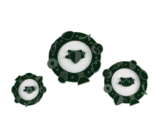 Malifaux - 50 mm Wrap Token 12 Pack