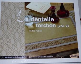 Book vol.2 Martine Piveteau edition the new torchon lace