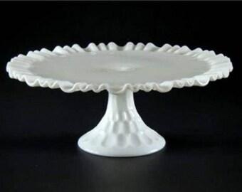 Gray Cake Platter >> Cake Platter Etsy