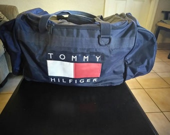 Vintage Tommy Hilfiger Duffle Bag 8a64ea1262d2b