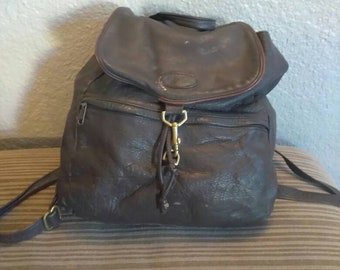Ll Bean Leather Backpack 59d6266109