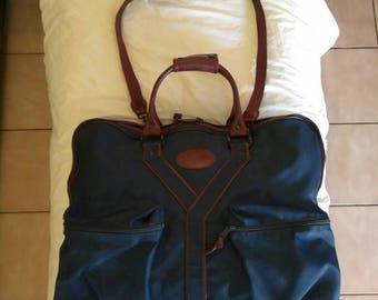 Ysl Yves Saint Laurent Weekender Travel Luggage