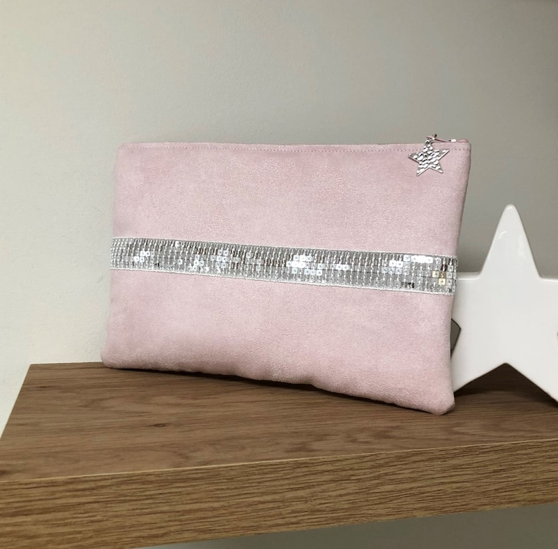 Pastel pink Ipad cover in the Vanessa Bruno style / Tablet image 0