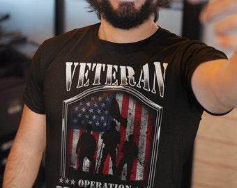 2643dbcd Veteran T-Shirt, Veteran Desert Storm, Veteran TShirt, Veteran Shirt, Gift  For Veteran, Veteran's Day Gift, Black TShirt, Veterans T-Shirt