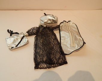 167cf785f979 Vintage Barbie or Fashion Doll Dramatic Travel Ensemble Maker Unknown