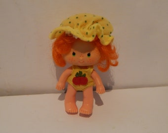 Vintage Strawberry Shortcake Doll Apple Dumplin  Kenner 1980
