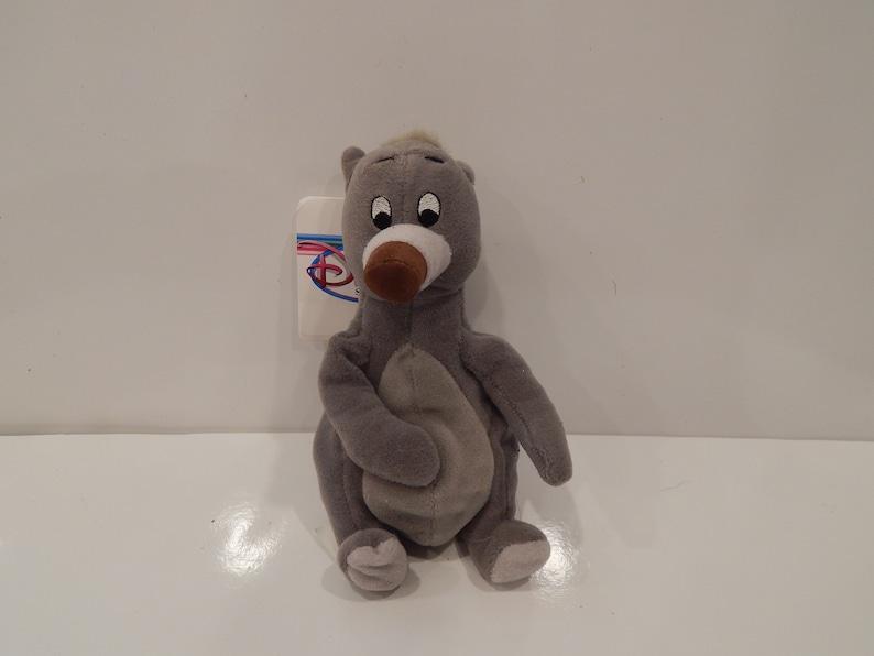 The Disney Store The Jungle Book Baloo Mini Bean Bag-Beanie