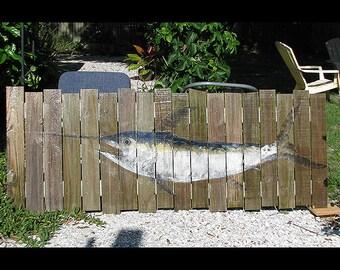 Swordfish gyotaku original