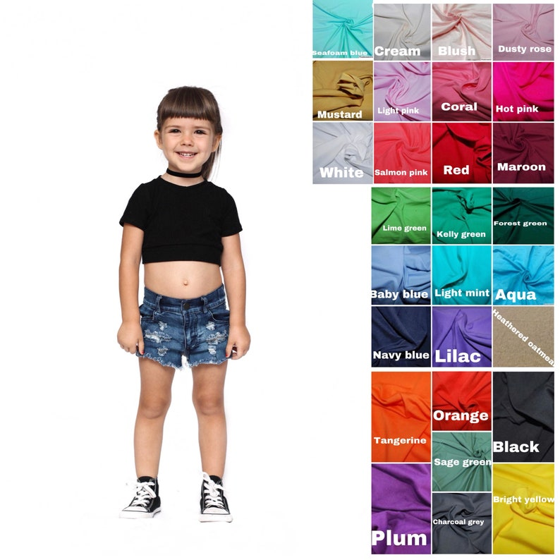 3c9e889efca30 Crop tops cross tops tank tops cami crops toddler crops